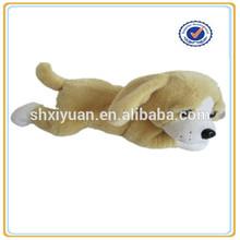 Lying child plush and stuffed love animal dogs