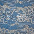 Flor de tecido de renda, halter casamento vestido de renda, lace up cortina