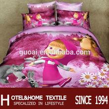 Cartoon Character Bedding 100% reactive cotton