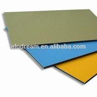 Painel composto de aluminio a prova de fogo aluminum composite panel