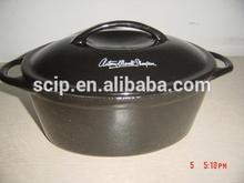Enameled pan