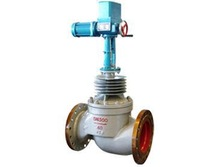 stem gate valve/electric sleeve type control valve