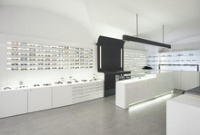 Upscale optical shop equipment for eyeglasses display