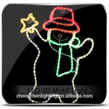 Commercial Pubilc Decoration christmas snowman fridge sticker