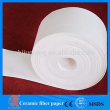 Ceramic Fiber Insulation High Temperature Fusing Paper for Glass Industry
