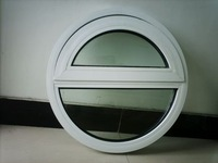 Aluminium oval fixed windows for commercial or family use