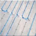 elemento de calefacción flexibles la instalación de suelo radiante en el calor de la losa