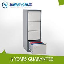 Metal chinese file hanging rod elegant white 4 drawer base cabinet