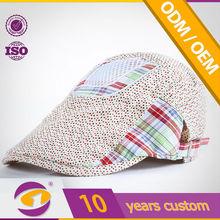 High Standard Long Brim Custom-Tailor Promotional Price Professional Printing brush cotton 77 men hat