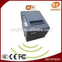 WIFI Portable mini POS Thermal Receipt Printer RP80W for Iphone