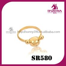 24 carati anello in oro 2014