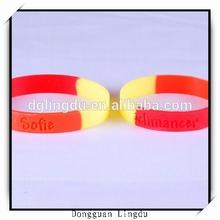 Silicone allergy bracelet,silicone vibrating wristband bracelet,silicone rosary bracelet