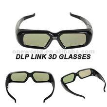 dlp link 3d active shutter glasses for sharp PG-D2710X projector