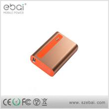 Metal mobile power supply/6000mAh USB power bank/Portable battery charger