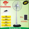 16 inch rechargeable stand usha fan with remote control