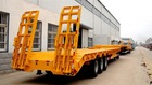 3 Axles Cheap 80t Max payload Low Bed Semi Trailer