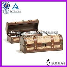 Custom Wholesale Leather Wine Carrier