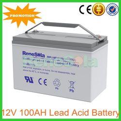 12V 100AH AGM UPS Battery Pack for solar System