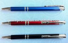 2015 popular design metal ball pen gel pen for promotion