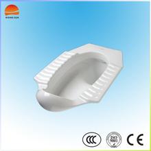 Ceramic modern squat toilet pan wc ,floor connects squatting pan, bathroom squatting toilet