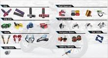 CNC Alloy Aluminum manufacuturer Hot sale motorcycle accessories for KTM