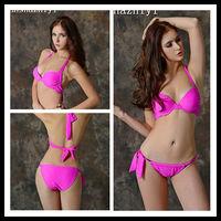 new design sexy plum girl image hot open bikini photo swimwear