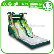 HI CE novel design sports equipment offer inflatable water slide for pool