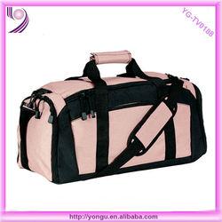 Pink popular style fashion duffle bag