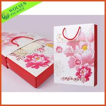 Printed Paper bag ,packaging paper bag, paper bag packaging for gift