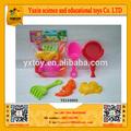 Shantou 2014 crianças brinquedos de plástico praia( 5 pcs) para vender