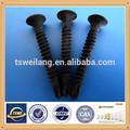 high quality carbon steel black phosphate bugle head drywall screws