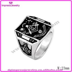 IJZ0046 high quality cheap custom masonic ring