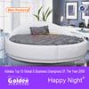 Golden Furniture manufacturer design modern round bed designs for sale 6805
