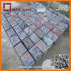 China cheap multicolor red granite cobble stone for garden