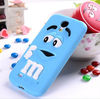 M&M Chocolate Silicone Cell Phone Cover Case for samsung galaxy s4 case galaxy s4