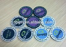 9.5g ceramic chips digital printing LOGO