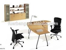 SUODI 5004 modern melamine series metal leg office table furniture