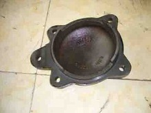 Railway Precision Casting Front Cover for Y25 Bogie Front Cover for Axle Box