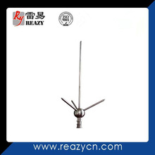 Stainless steel lightning preventer/ball type lighting rod