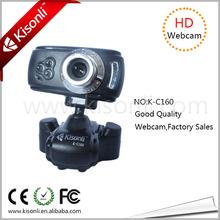 High quality 5 mega pixels night vision HD webcam laptop