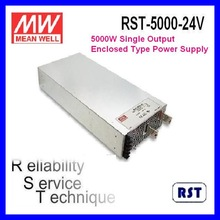 Meanwell RST-5000-24 5000W 24V 200A Single Output with PFC Enclosed Switching Power Supply