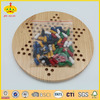 educational wooden chinese checker handmade wooden game for kids entertainment