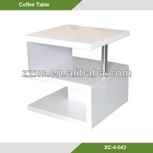 S Shape MDF Coffee Tables For Sale XC-4-043