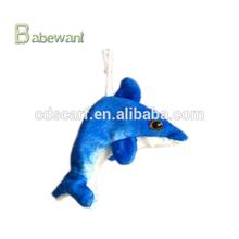 FACTORY Popular items for plush dolphin keychain animal keychain china plush toy