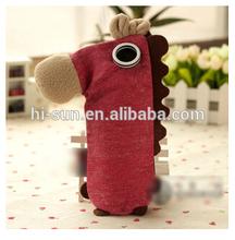 The original coconut horse korean stationery bag new style cute creative desktop simple large capacity pencil bag
