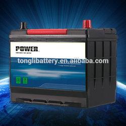 N60 12v 60Ah auto MF battery