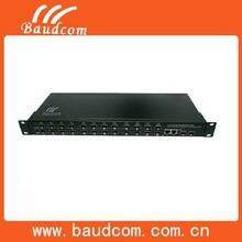 China High Quality 2Port SFP 1000BASE-Fx + 24Port 10/100/1000BASE-Tx Support SNMP Management 24 port Optical Fiber Switch