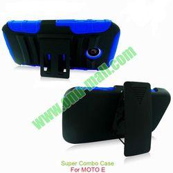 Combo PC and Gel Silicone Case for Motorola Moto E XT1021 XT1022
