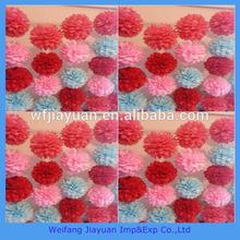 new most popular tissue paper pom poms ,flower balls
