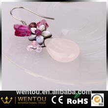 Best Selling Flower Tear Drop Earrings